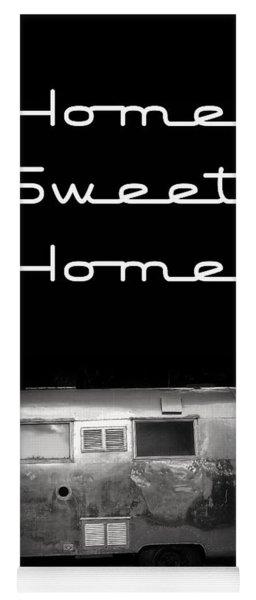 Home Sweet Home Vintage Airstream Yoga Mat