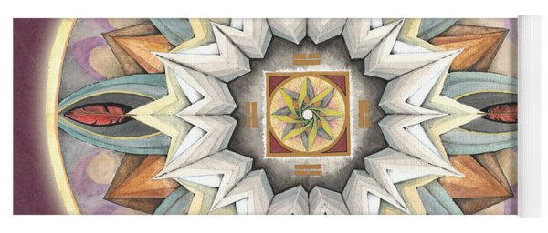 Honor Mandala Yoga Mat