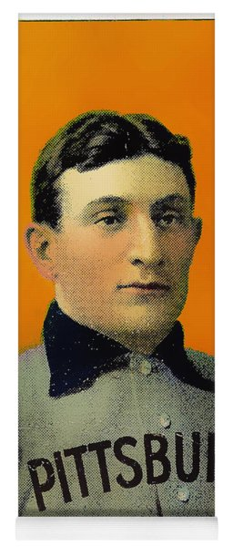 Honus Wagner Baseball Card 0838 Yoga Mat