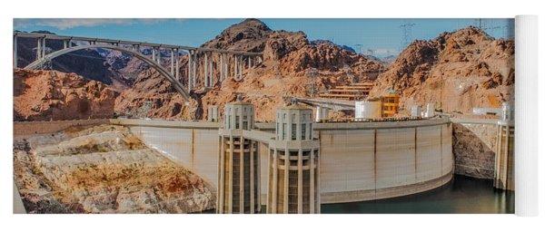 Hoover Dam Reservoir Yoga Mat