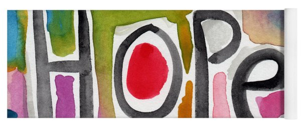 Hope- Colorful Abstract Painting Yoga Mat