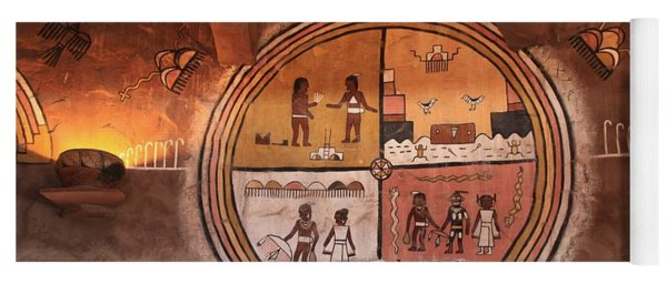Hopi Art Yoga Mat