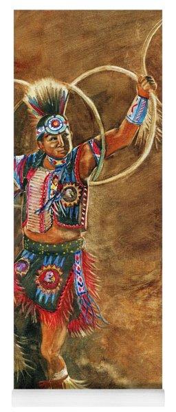 Hopi Hoop Dancer Yoga Mat