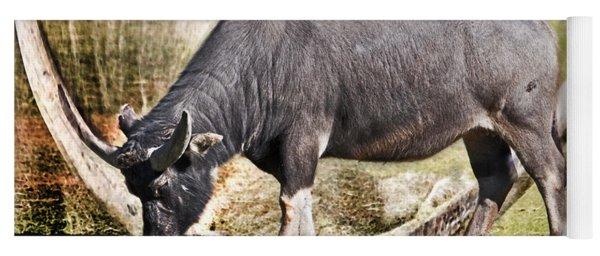 Horn Of A Buffallo Yoga Mat