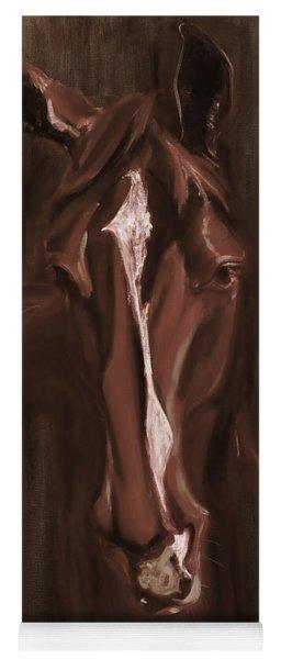 Horse Apple Warm Brown Yoga Mat