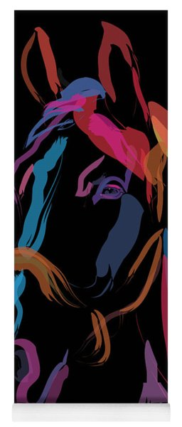 Horse-colour Me Beautiful Yoga Mat