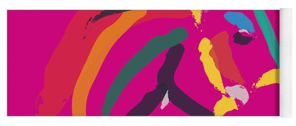 Horse - Colour Me Strong Yoga Mat