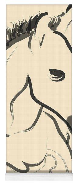 Horse-foal-pure Yoga Mat