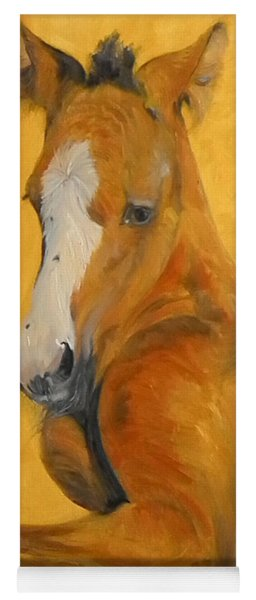 horse - Gogh Yoga Mat