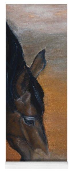 horse - Lily Yoga Mat