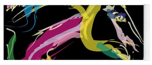 Horse- Lovely Colours Yoga Mat