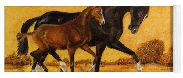 Horse - Together 2 Yoga Mat