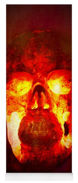 Hot Headed Skull Yoga Mat