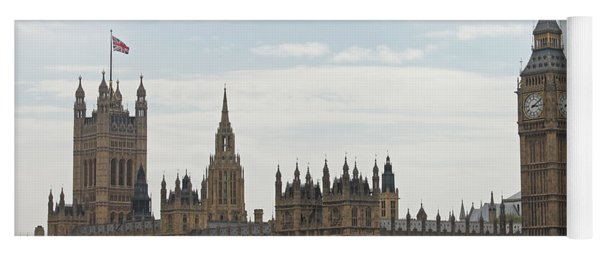 Houses Of Parliament Yoga Mat