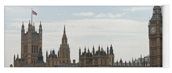Houses Of Parliament Yoga Mat