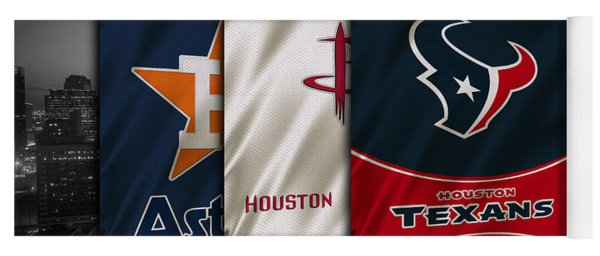 Houston Sports Teams Yoga Mat