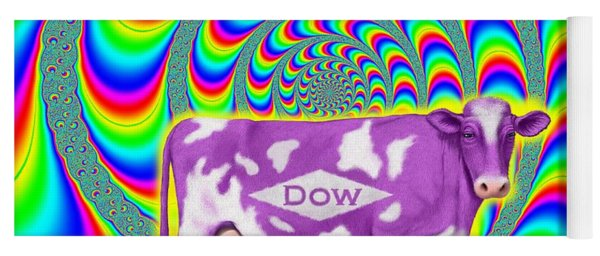 How Now Dow Cow? Yoga Mat