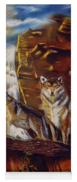 Howling For The Nightlife  Yoga Mat