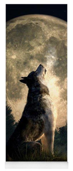 Howling Wolf Yoga Mat