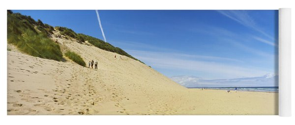 Huge Sand Dune At White Rocks Bay Yoga Mat