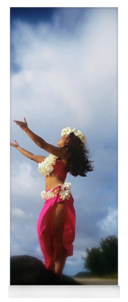 Hula Dancer Hawaii Yoga Mat