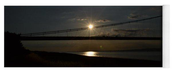 Humber Bridge Sunset Yoga Mat