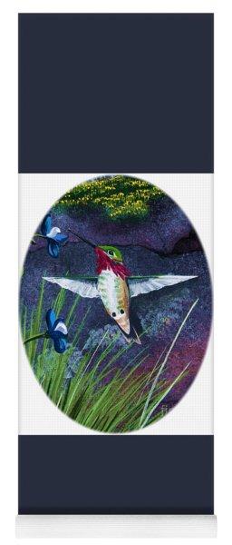 Hummingbird Two Yoga Mat