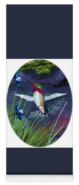 Hummingbird Two Yoga Mat