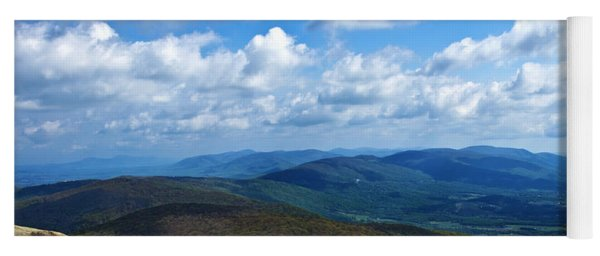 Humpback Rocks View North Yoga Mat