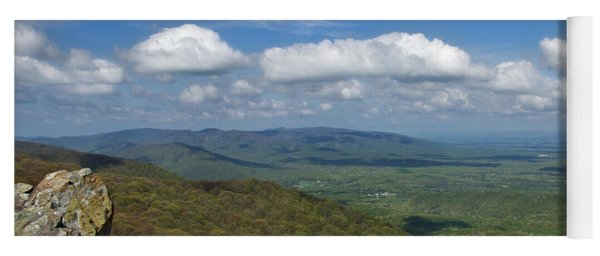 Humpback Rocks View South Yoga Mat