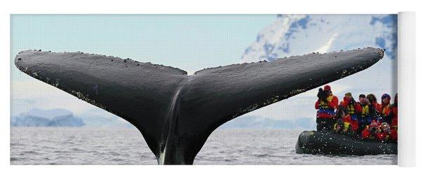 Humpback Whale Fluke  Yoga Mat