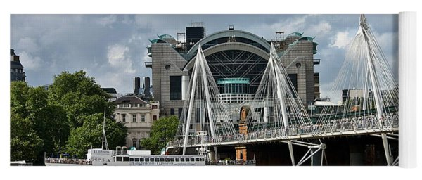 Hungerford Bridge And Charing Cross Yoga Mat