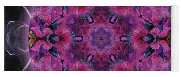 Hydrangea Yoga Mat