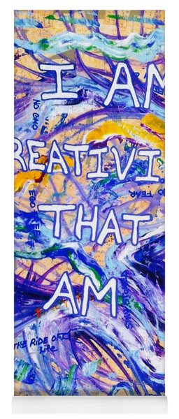 I Am Creativity Yoga Mat