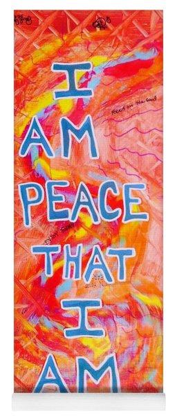 I Am Peace Yoga Mat