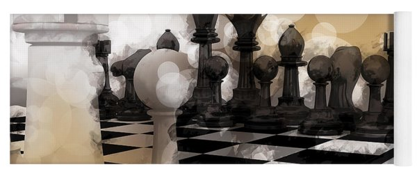 I Dream Of Chess ... Yoga Mat