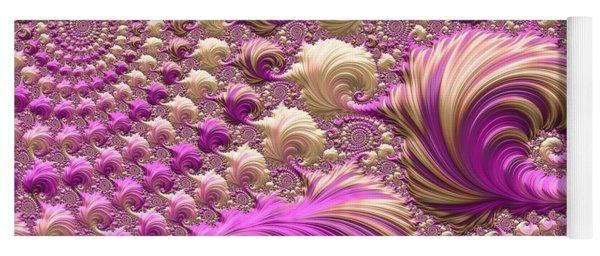 Yoga Mat featuring the digital art Ice Cream Social by Susan Maxwell Schmidt