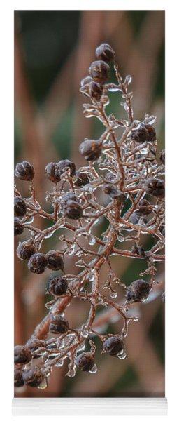 Ice On Berries Yoga Mat