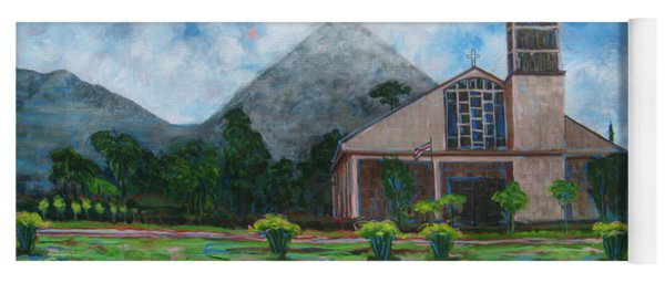 Iglesia La Fortuna  Costa Rica Yoga Mat