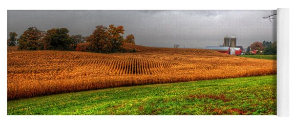 Illinois Farmland I Yoga Mat