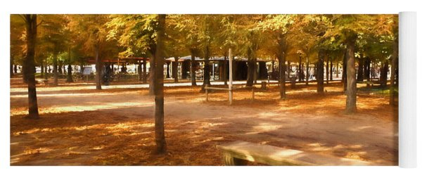 Impressions Of Paris - Tuileries Garden - Come Sit A Spell Yoga Mat