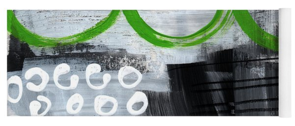 In Circles- Abstract Painting Yoga Mat