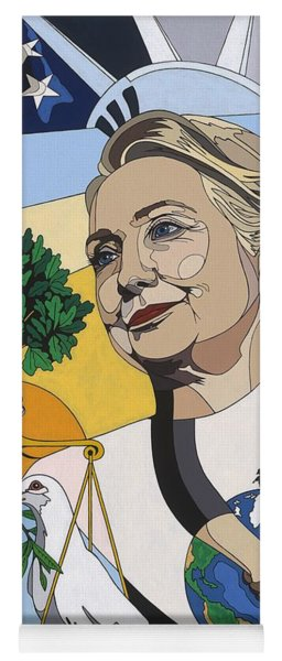 In Honor Of Hillary Clinton Yoga Mat