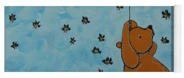 In The Pursuit Of Honey Yoga Mat