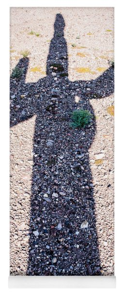 In The Shadow Of A Saguaro Cactus Yoga Mat