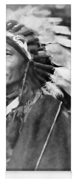 Indian Chief - 1902 Yoga Mat