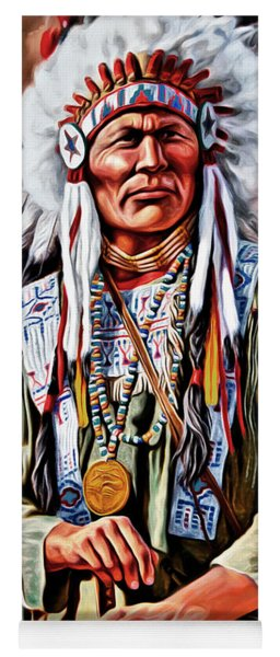 Indian Chief Yoga Mat