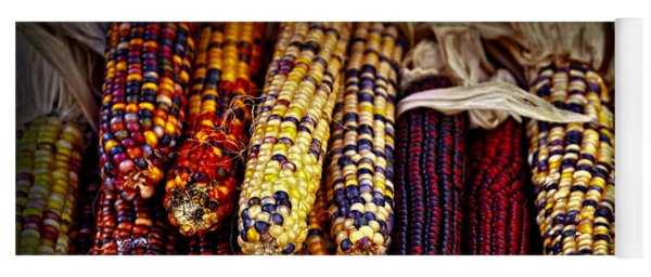 Indian Corn Yoga Mat