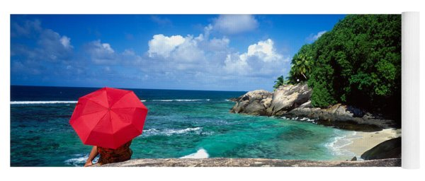 Indian Ocean Moyenne Island Seychelles Yoga Mat