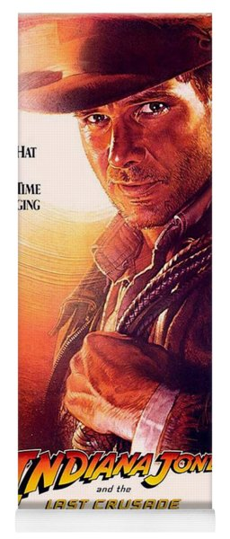 Indiana Jones And The Last Crusade  Yoga Mat